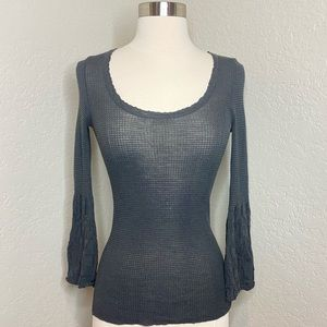 M Missoni Bell Sleeve Knit Top